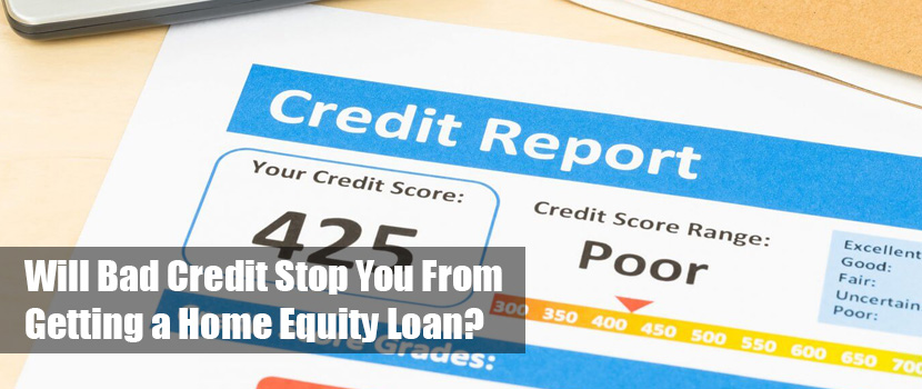 Bad Credit Home Equity Loan
